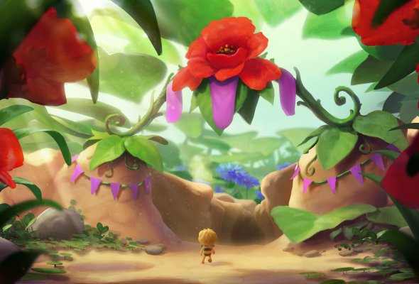 Пчелка Майя и кубок меда - Фото №0