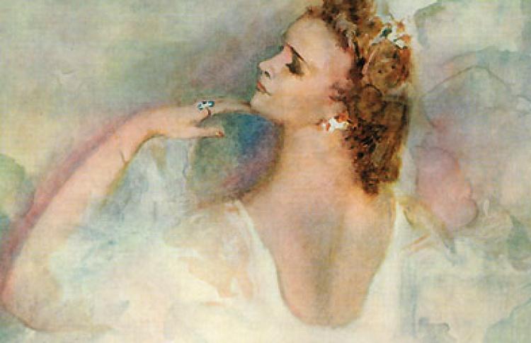 Гала-концерт в честь Марины Семеновой