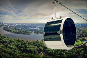 Канатная дорога в Москве станет общественным транспортом