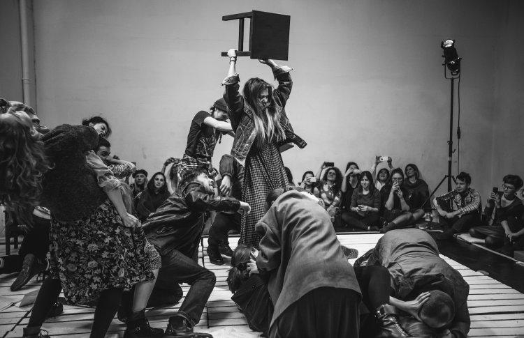 Открытый урок по актерскому курсу LIQUID THETRE в Gogol School