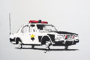 Выставка известного стрит-арт художника Бэнкси в Москве