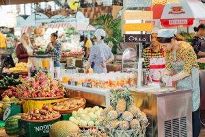 Азиатский рынок на Даниловском