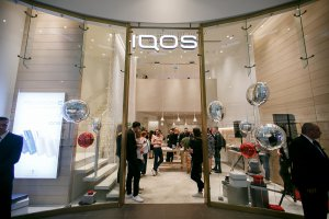 Магазин IQOS отметил свой первый день рождения в кругу друзей