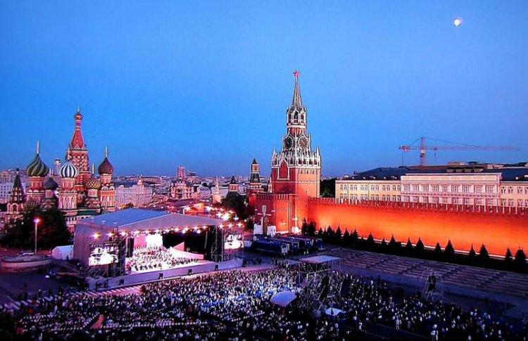 Концерт к открытию Чемпионата мира по футболу