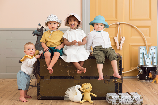 Жара в городе: Одежда и аксессуары для самых маленьких