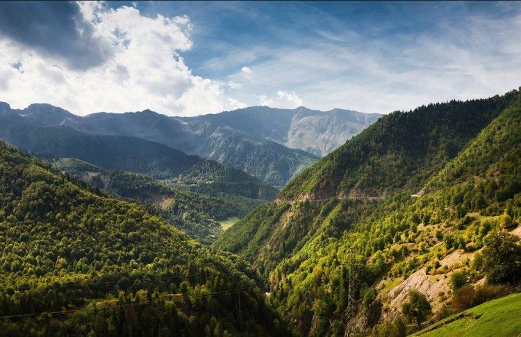 Забраться на Кавказские горы рядом с Сочи