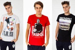 ТВОЕ выпустил коллекцию с легендарными футболистами России