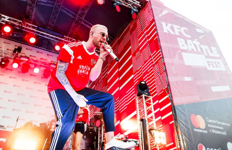 KFC Battle Fest в Москве: Егор Крид и L'One выступят на суперфинале проекта сезона 2018