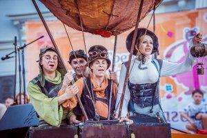 Фестиваль уличных театров пройдет в ЦПКиО