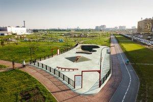В МЕГА ПАРКЕ появится площадка для скейтеров