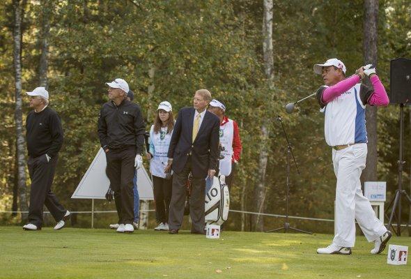 Международный гольф-турнир в рамках Евротура стартовал при поддержке ВТБ - Фото №11