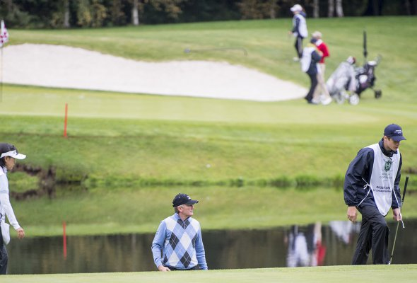 Международный гольф-турнир в рамках Евротура стартовал при поддержке ВТБ - Фото №7