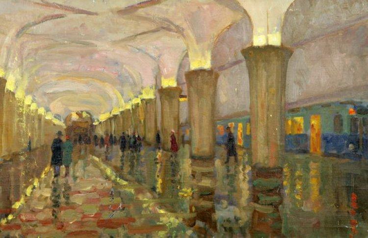 Выставка картин Алексея Айзенмана
