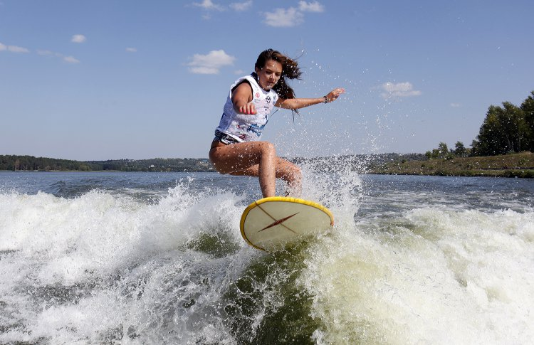 На Гребном канале пройдет фестиваль серфинга
