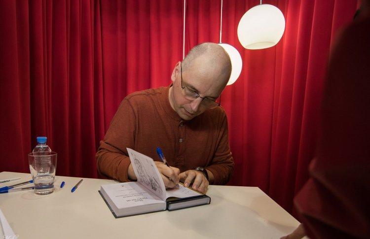 Встреча с писателем Ником Перумовым