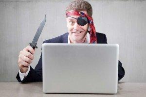 Самой быстроразвивающейся отраслью в России оказалось пиратство