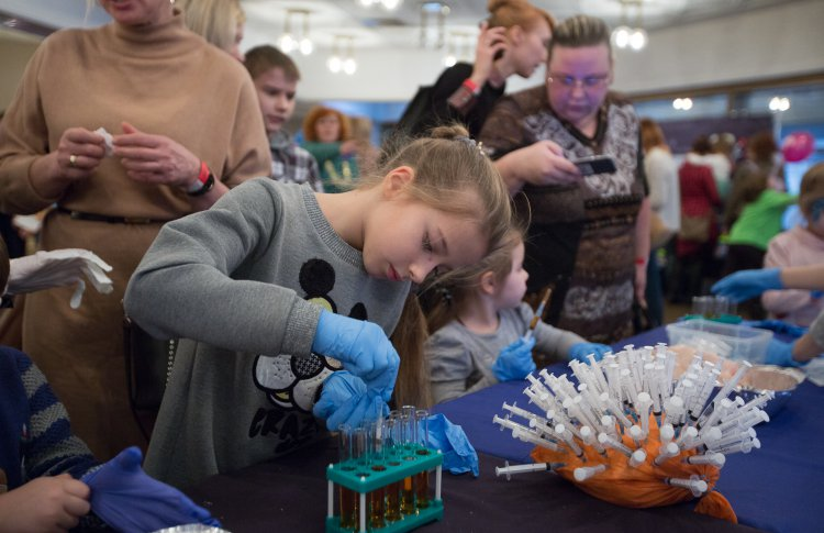 Детский фестиваль науки WOW!HOW?