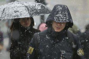 Снег в Петербурге начнется в субботу
