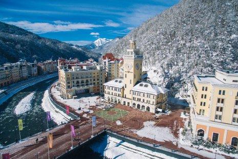 4 причины приехать на горный курорт «Роза Хутор» зимой