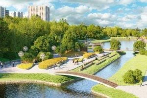 В Качаловские пруды запустят два фонтана