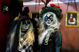 В Петербурге отпраздновали мексиканский День мёртвых