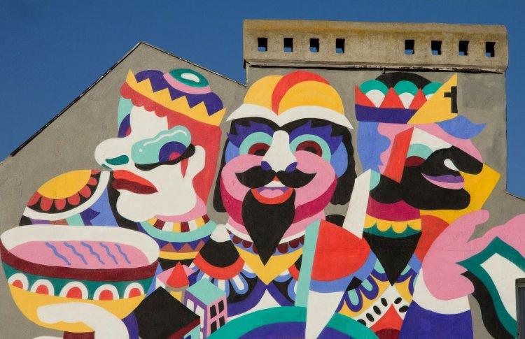 В Электротеатре покажут стрит-арт ковры