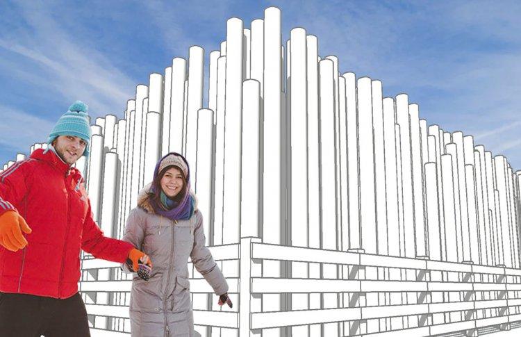 В парке Горького начнет работать индустриальный каток
