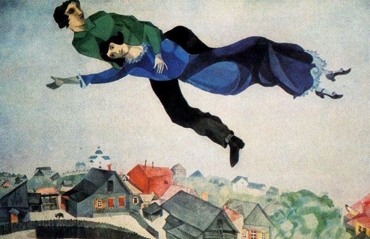 Марк Шагал: полет цвета