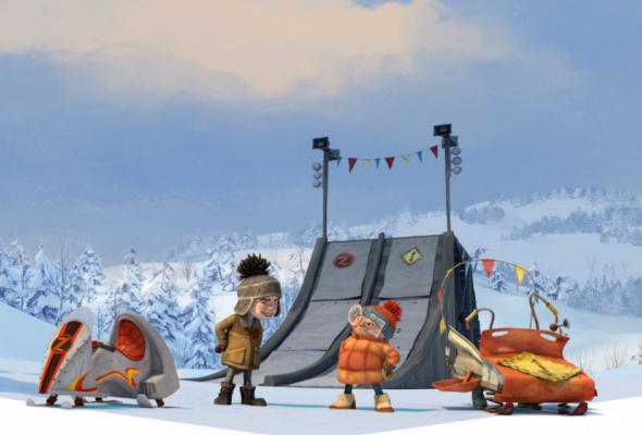 Снежные гонки - Фото №0