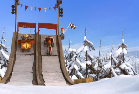 Снежные гонки - Фото №5