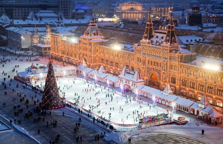 Каток на Красной площади откроется выступлением Татьяны Навки