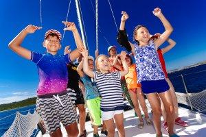 7 причин пойти на яхте с детьми