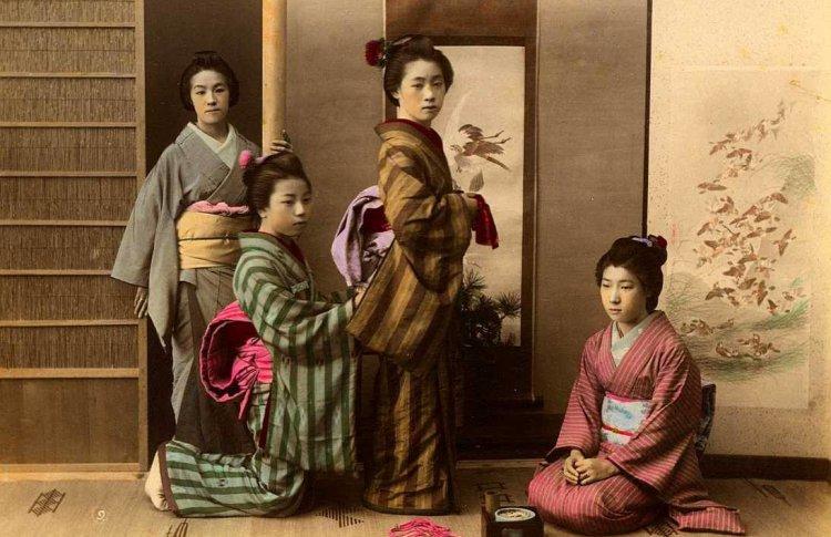 Кимоно эпохи перемен