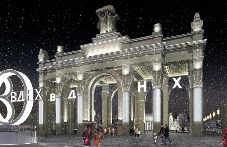 На ВДНХ построят зимний городок с керлингом и юкигассеном