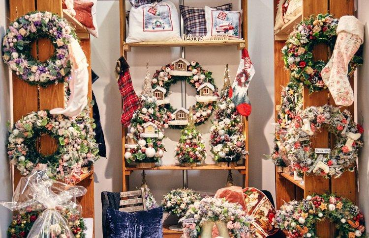 Рождественская ярмарка подарков