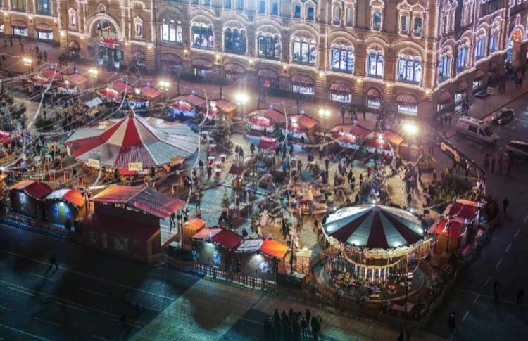Сказки московских улиц и ярмарочные балаганчики
