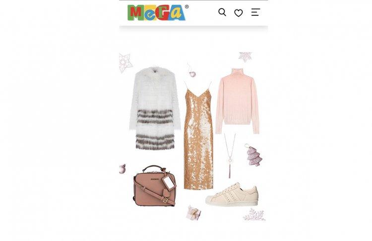 Комбинация, пайетки и мех: Instagram-блогеры и MEGA Online определили главные тренды новогоднего аутфита