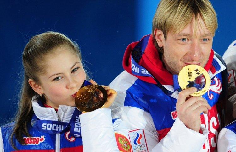 Плющенко и Липницкая выступят за 100 рублей