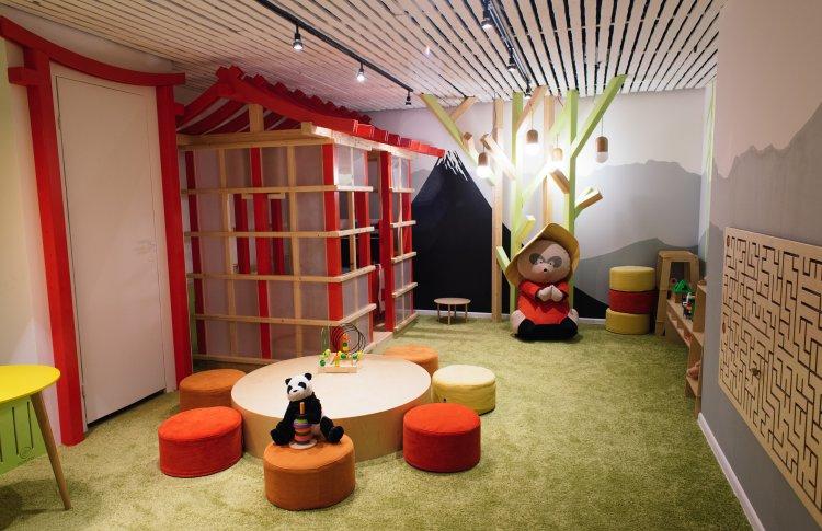 «Тануки» открывает игровые зоны для детей