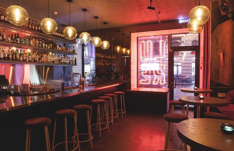Здесь много заманчивых предложений: коктейльный бар LURE