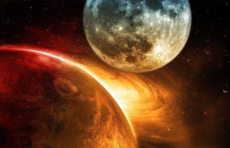 Стареющая Луна сблизится в Венерой и Юпитером на глазах москвичей