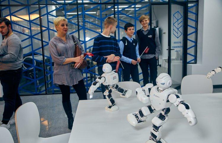 Тематический квест «Назад в будущее» в детском технопарке «Наукоград» МФЮА