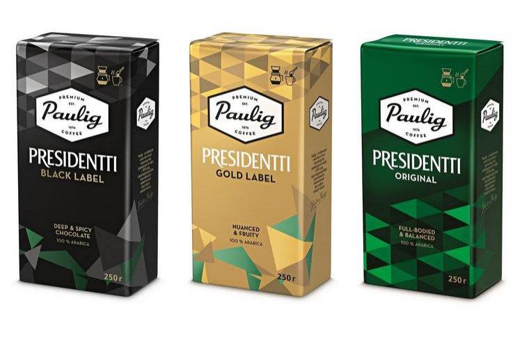 К 23 февраля: линейка кофе Paulig Presidentti