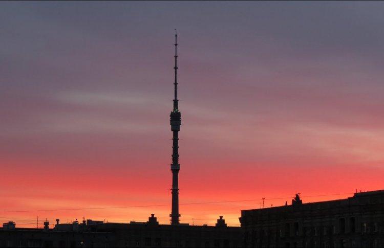 Останкинская башня станет розовой 14 февраля