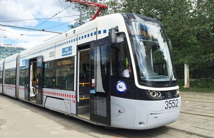 В Москве запускают беспилотный трамвай