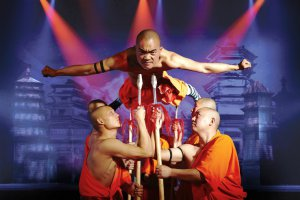 Шоу монахов Шаолинь