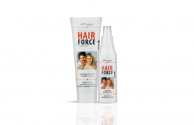 Подарок для Него: шампунь и лосьон HAIR FORCE ONE против выпадения волос