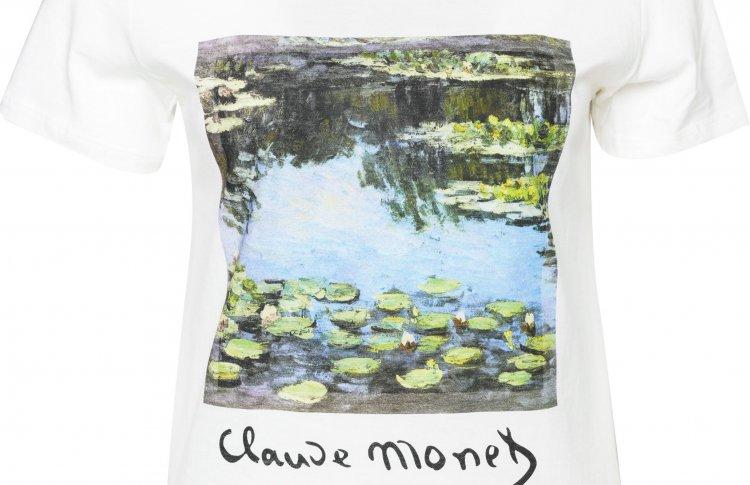 ТВОЕ выпустил футболки с принтами Моне и Матисса