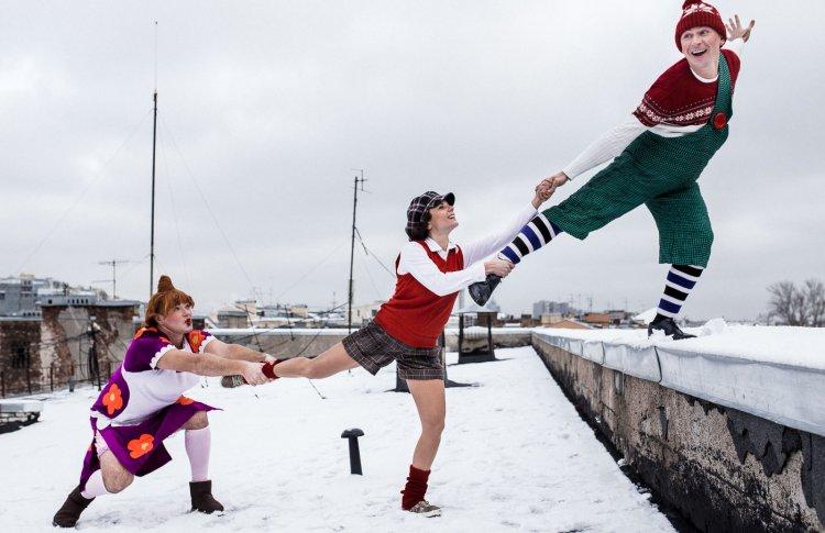 Куда пойти на каникулах с детьми: ледовый спектакль «Малыш и Карлсон, который живет на крыше»