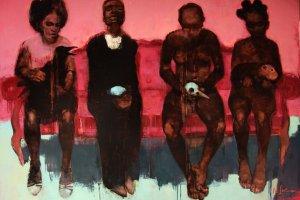 Выставка Наталии Спечинской «No Drama Blood / Кровь без драмы»